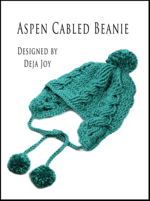 cover image of Aspen Cabled Beanie