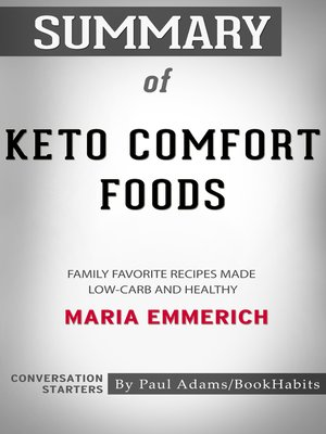 cover image of Summary of Keto Comfort Foods