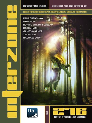 cover image of Interzone #276 (July-August 2018)