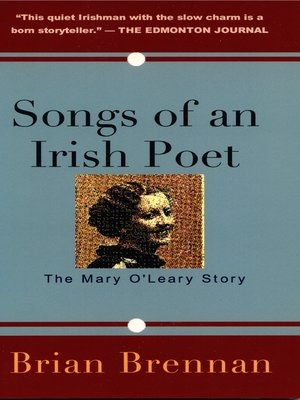 cover image of Songs of an Irish Poet