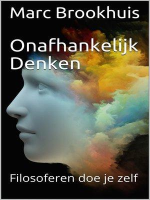 cover image of Onafhankelijk Denken