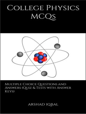 cover image of College Physics MCQs