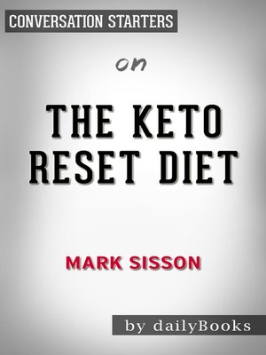 cover image of The Keto Reset Diet by Mark Sisson / Conversation Starters