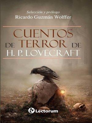 cover image of Cuentos de terror