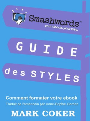 cover image of Guide des Styles Smashwords
