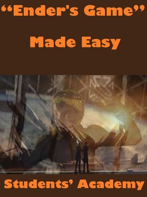 "cover image of ""Ender's Game"" Made Easy"
