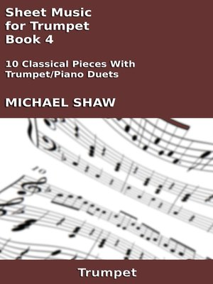 cover image of Sheet Music for Trumpet