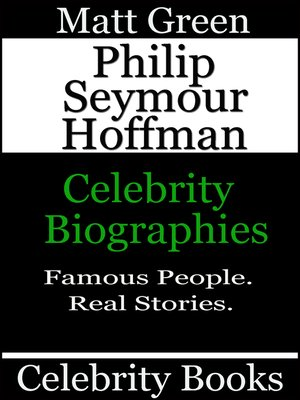cover image of Philip Seymour Hoffman
