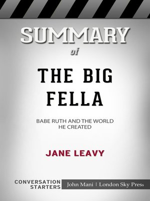 cover image of Summary of the Big Fella