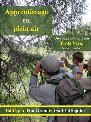 cover image of Apprentissage en plein air