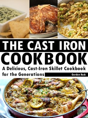 cover image of The Cast Iron Cookbook