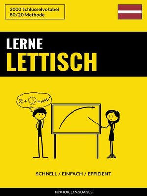 cover image of Lerne Lettisch