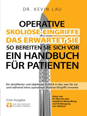 cover image of Operative Skoliose-Eingriffe