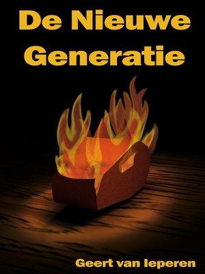 cover image of De Nieuwe Generatie