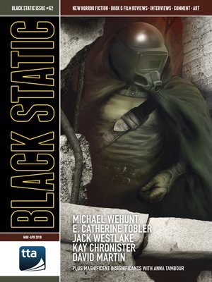 cover image of Black Static #62 (March-April 2018)