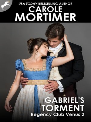cover image of Gabriel's Torment (Regency Club Venus 2)