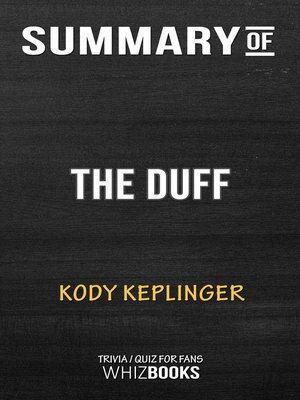 cover image of Summary of the Duff