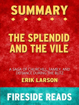 cover image of Summary of the Splendid and the Vile