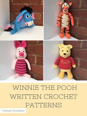 cover image of Winnie the Pooh--Written Crochet Patterns (Unofficial)