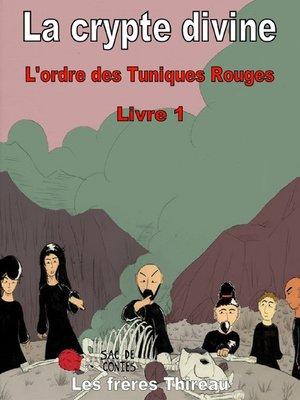 cover image of La crypte divine