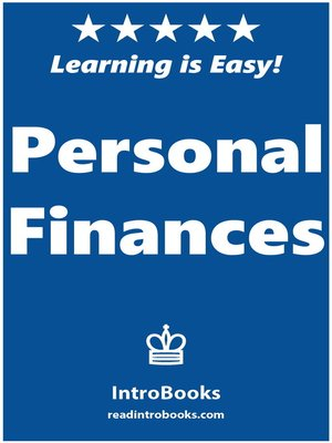 cover image of Personal Finances