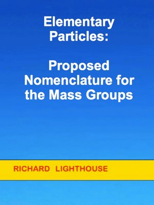 cover image of Elementary Particles