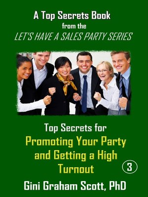 cover image of Top Secrets for Promoting Your Party and Getting a High Turnout