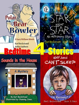 cover image of 4 Bedtime Stories (for Wide Awake Kids)