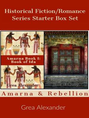 cover image of Historical Fiction/Romance Series Starter Box Set