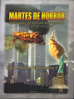 cover image of Martes de Horror