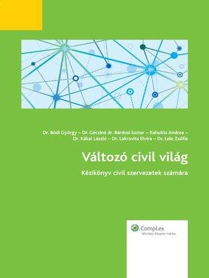 cover image of Változó civil világ