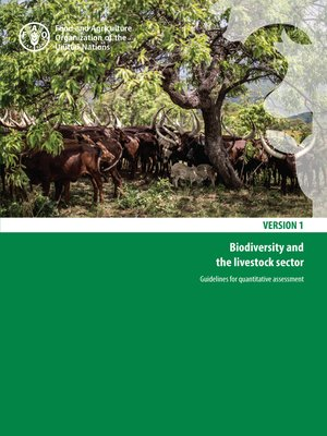 cover image of Biodiversity and the Livestock Sector