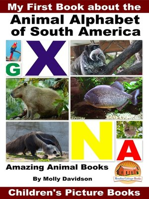 cover image of My First Book about the Animal Alphabet of South America