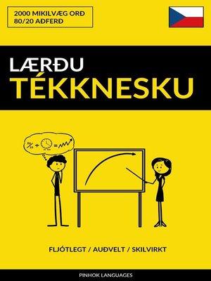 cover image of Lærðu Tékknesku