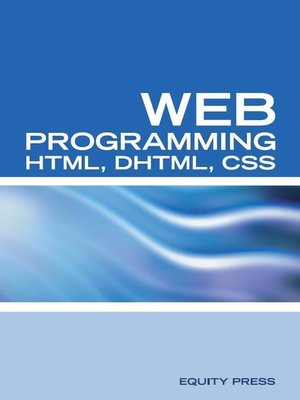 cover image of Web Programming Interview Questions with HTML, DHTML, and CSS