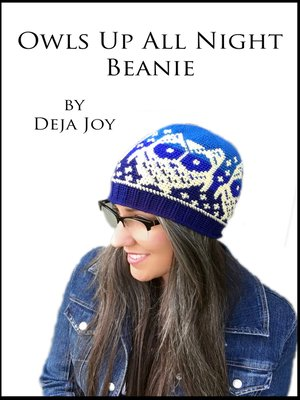 cover image of Owls Up All Night Beanie
