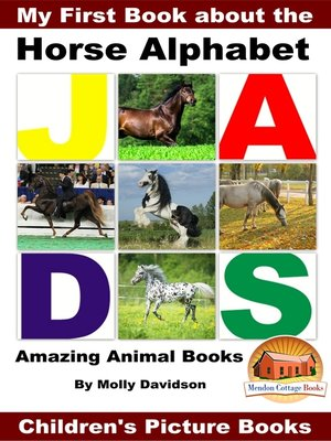 cover image of My First Book about the Horse Alphabet