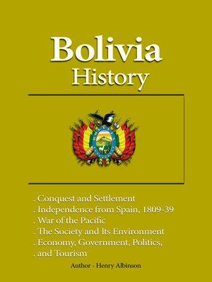 cover image of Bolivia History