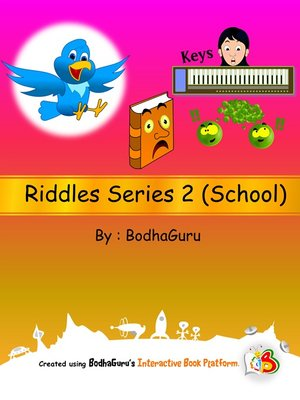 cover image of Riddles Series 2 (School)
