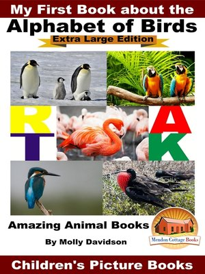 cover image of My First Book about the Alphabet of Birds