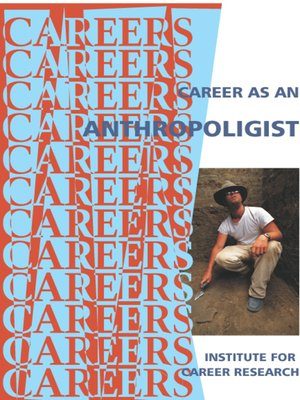 cover image of Career as an Anthropoligist