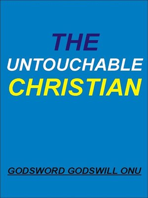 cover image of The Untouchable Christian