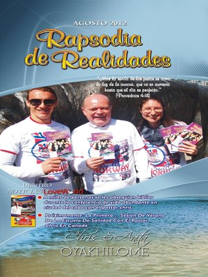 cover image of Rhapsody of Realities August 2012 Spanish Edition