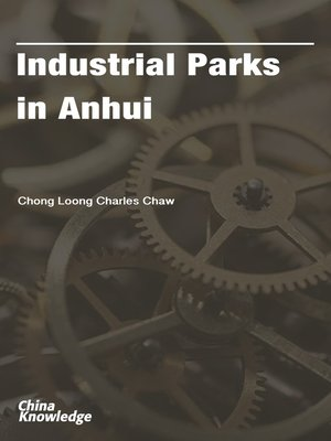 cover image of Industrial Parks in Anhui