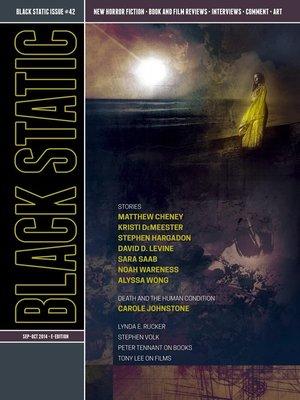 cover image of Black Static #42 Horror Magazine (Sept--Oct 2014)