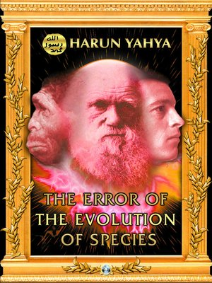 cover image of The Error of the Evolution of Species