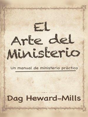 cover image of El Arte del Ministerio