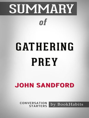 cover image of Summary of Gathering Prey by John Sandford / Conversation Starters