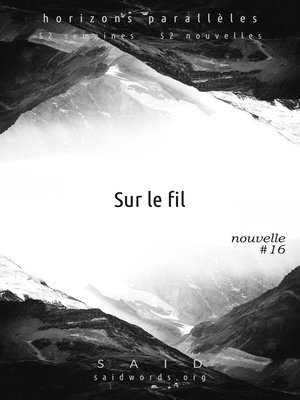 cover image of Sur le fil