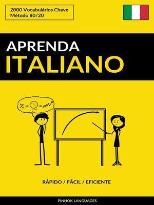 cover image of Aprenda Italiano